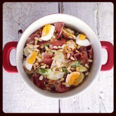Echt een zondag voor een lauwwarme salade. Morgen staat het recept op chicascooking.nl. #salade #foodies #yum