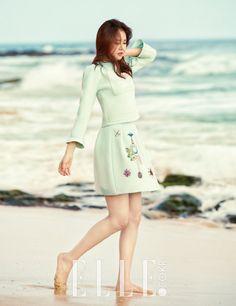 Apink Naeun - Elle Magazine March Issue 16 #apink #naeun