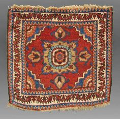 Kurd(?) Bag Face, W. Persia
