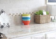 Formica® Crema Mascarello 180fx® Countertops - It's not granite!