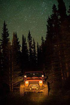 starry night jeep