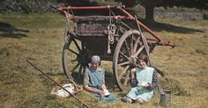 This diverse set of English pictures was colored using the Autochrome process, the foremost photo technology of its day.