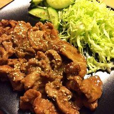 Japanese Shogayaki (Ginger Pork)