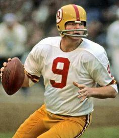 Sonny Jurgensen of the Washington Redskins.