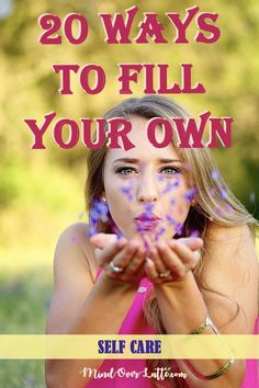 When you give to other  while your cup is half full you're taking away from your self. When you  give to others what is overflowing, everyone is happy. Here are a few  simple ways to take care of yourself and to fill your own cup so that  you can help other fill theirs as well. #MindOverLatte #selfcare  #selflove #fillyourowncup #happylife #wellness #metime