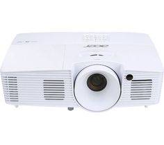 """Buy ACER X125H Long Throw Office Projector Price: £349.99 Top features: - Project to an impressive 300"""" - Suitable for meeting rooms with natural light - High contrast imageryfor brighter whites and richer black tones Project to an impressive 300"""" The versatility of the Acer X125H Long Throw Home Cinema Projector means it can project an image from any size between 27"""" to 300"""" for..."""