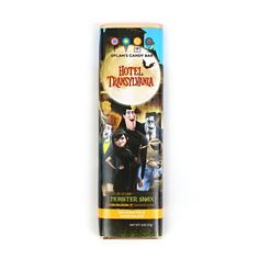 Hotel Transylvania milk chocolate bar from Dylan's Candy Bar. Hotel Transylvania Party, 5th Birthday, Birthday Parties, Dylan's Candy, Halloween Chocolate, Gothic Halloween, Belgian Chocolate, Halloween Trick Or Treat, Lemonade