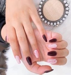 nails, You can collect images you discovered organize them, add your own ideas to your collections and share with other people. Fall Nail Designs, Acrylic Nail Designs, Acrylic Nails, Gel Nails, Fall Nail Colors, Types Of Nails, Coffin Nails, Summer Nails, Pretty Nails