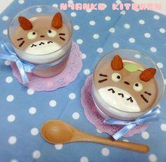 Totoro dessert