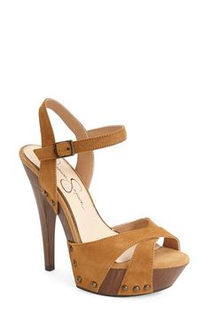 Jessica Simpson 'Faraday' Platform Sandal (Women)