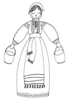 Romanian girl coloring page, de colorat Coloring Pages For Girls, Coloring Books, 1 Decembrie, Romanian Girls, Transylvania Romania, Point Lace, Olaf, Drawing S, Traditional Outfits