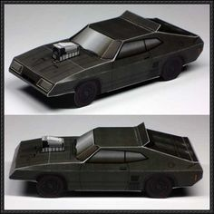 Mad Max - Ford Falcon XB Free Vehicle Paper Model Download - http://www.papercraftsquare.com/mad-max-ford-falcon-xb-free-vehicle-paper-model-download.html