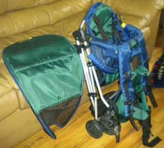 In Step Backpack Stroller - $50 (near Fortuna)