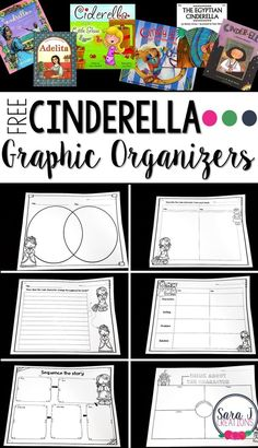 Free Comparing Cinderella Graphic Organizers Free Cinderella graphic organizers to practice comparing and contrasting different versions of the same story. Fairy Tale Activities, Writing Activities, Drama Activities, Reading Comprehension Activities, Printables Organizational, Cinderella Book, Text To Text Connections, Making Connections, Fractured Fairy Tales