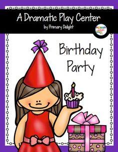 Birthday Party Dramatic Play Center