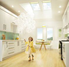 """a skylight can open up a home  """"Sterlingbuild #WinAVELUX"""""""