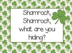 Free!! Shamrock Shamrock interactive book