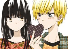 Kujou and Yanagi from Last Game manga ♥