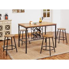 Found it at Wayfair - Dora Counter Height Dining Table