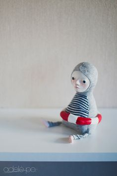 Swimmer Doll by adelepo//