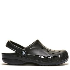 Crocs Men's Baya Clog Sandals (Black)
