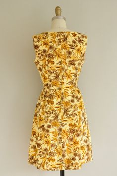 vintage 1950s dress / 50s floral cocktail by simplicityisbliss, $168.00