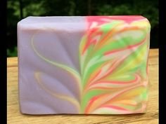 The making of Peppermint and Eucalyptus cold process soap - YouTube