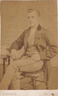 """H. Holburn, Photographer. 61 Park Street, Bristol (Southwest England)."" John Doe, Family Album, Bristol, England, Park, Portrait, Street, Painting, Men Portrait"