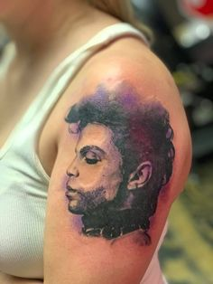Tatoos, Cool Tattoos, Prince Tattoos, Prince Purple Rain, Roger Nelson, Prince Rogers Nelson, Tatting, Tattoo Ideas, Royalty