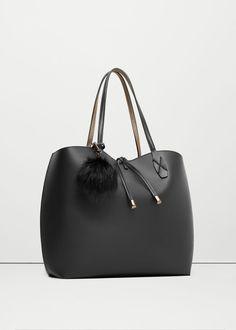 Cosmetic bag shopper bag | MANGO