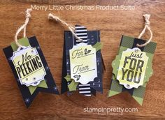 SNEAK PEEK from the Stampin' Up! Holiday catalog of the Merry Little Christmas Product Suite.  Read more https://stampinpretty.com/2017/07/stampin-holiday-catalog-sneak-peeks.html