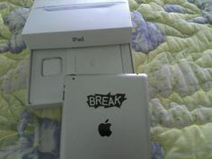 iPad2 with engraved Break logo. FTW.