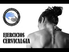Cervicalgia, ejercicios para aliviar el dolor de cuello / Fisioterapia a... Qigong, Pilates Video, Gentle Yoga, Yoga Gym, Tai Chi, Natural Medicine, Stretching, Reiki, Health Fitness