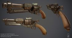 Firestorm - antique revolver by Nosslak