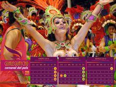 Calendario Carnaval del País - Gualeguaychú, Entre Ríos