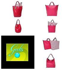 Älä osta liikaa laukkuja - hanki yksi moneksi muuttuva Gabs!    Ginger-käsilaukku käy niin arkeen kuin juhlaan väripilkuksi, isomman Kenzian (oikealla) saat muokattua jopa neljäksi erilaiseksi olkalaukuksi!