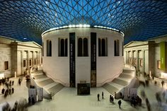The British Museum-I am in LOVE with the atrium of this building.