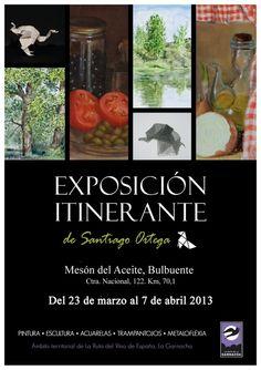 Exposición Itinerante de Santiago Ortega por el territorio de La Ruta de la Garnacha
