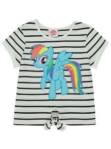 My Little Pony Striped T-shirt | Kids | George at ASDA
