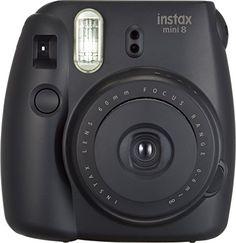 Fujifilm Instax Mini 8 Instant Camera (Edgy Black)