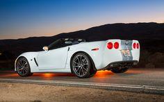 427 60th anniversary corvette | 2013 Chevrolet Corvette 427 60Th Anniversary Convertible Rear Three ...