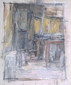 Alberto Giacometti 'Interior', 1949 © The Estate of Alberto Giacometti… Alberto Giacometti, Giacometti Paintings, Figure Painting, Painting & Drawing, Famous Sculptures, Sculpture Stand, Still Life Drawing, Ouvrages D'art, Art Uk