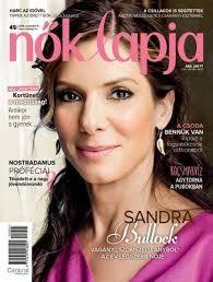 Sandra Bullock - Nõk Lapja Magazine Cover [Hungary] (4 November 2015)