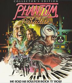 phantom of the paradise poster - Bing Images <--- Collector's Edition??  Give me it!