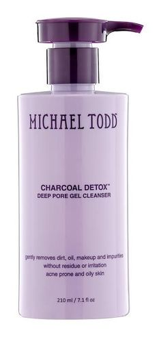 The Michael Todd Product Neutralizes Acidity and Absorbs Impurities #skincare trendhunter.com
