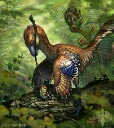 Prehistoric Wildlife, Prehistoric World, Prehistoric Creatures, Dinosaur Art, Dinosaur Fossils, Dinosaur Crafts, Feathered Dinosaurs, Jurassic Park World, Extinct Animals