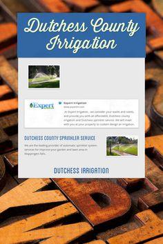 Dutchess County Irrigation