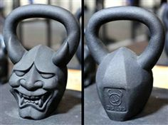 """Bringing to life the style and rich heritage of Japanese warrior art, this """"Hannya"""" DemonBell  ($99.99) http://www.demonbells.com/product_p/2.htm"""