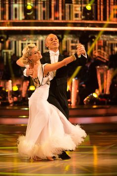 SCD week 6, 2016. Judge Rinder & Oksana Platero. Quickstep. Credit: BBC / Guy Levy