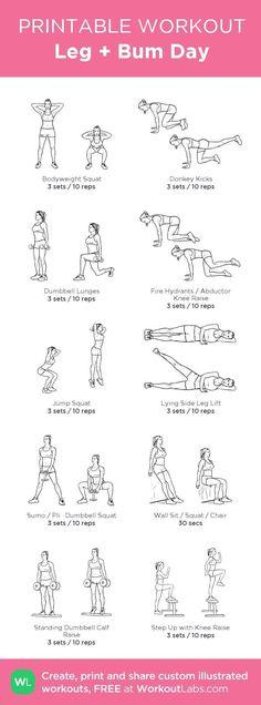 weight loss camp, weight loss clinic, vegetarian weight loss diet - Leg + Bum Day Workout